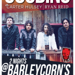 GOODING w/ Carter Hulsey and Ryan Reid Poster 2 Barleycorn's
